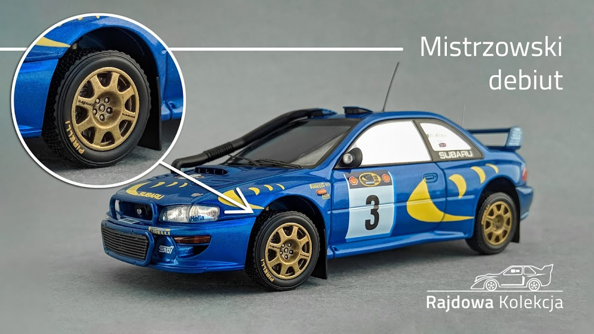 HPI Racing Subaru Impreza S3 WRC'97, C. McRae / N. Grist, Winner Safari Rally 1997