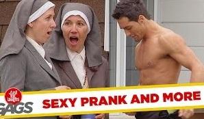 Stripping for Nuns, Backyard Funeral, Shopping Cart Disaster Pranks – Throwback Thursday