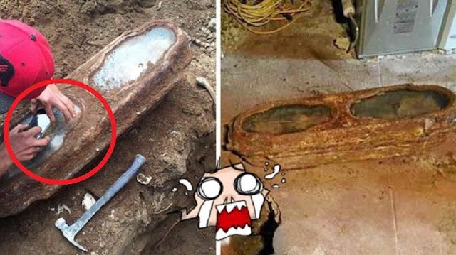 Tukang Bangunan Temukan Benda Kuno Waktu Renovai Rumah, Saat Dibuka Isinya Sungguh Mencengangkan!! Bikin Haru