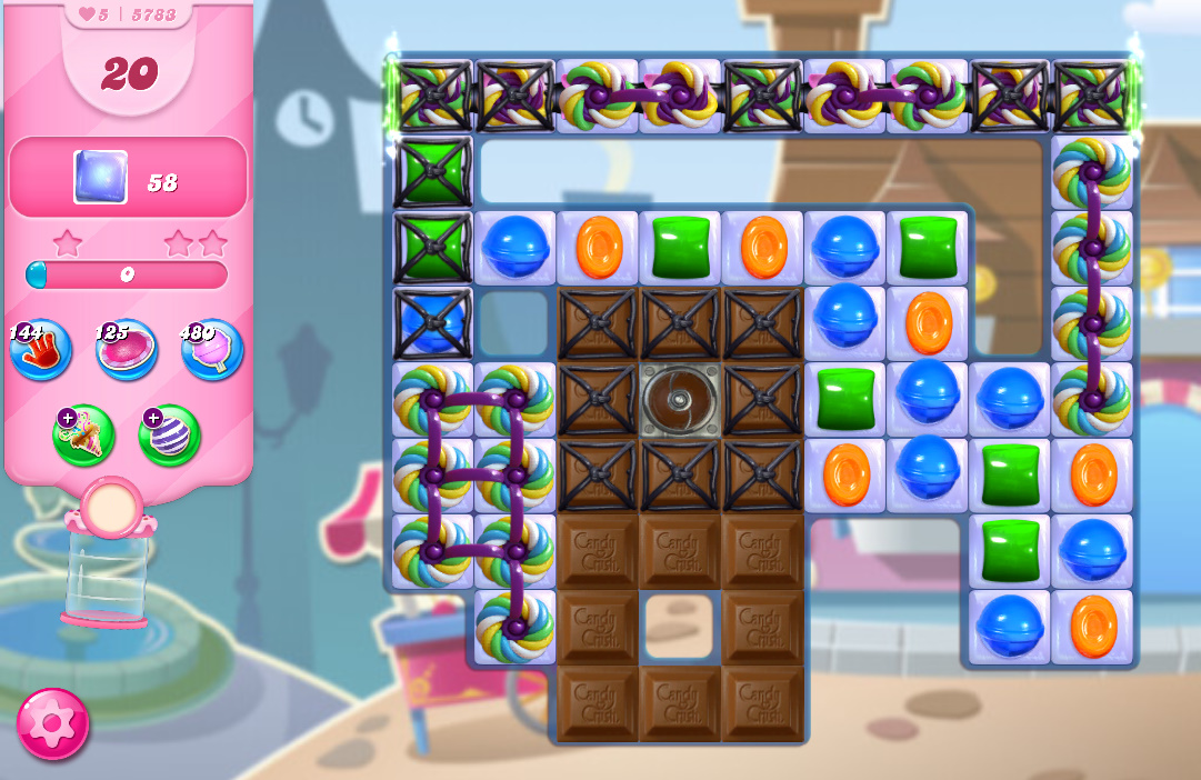 Candy Crush Saga level 5783