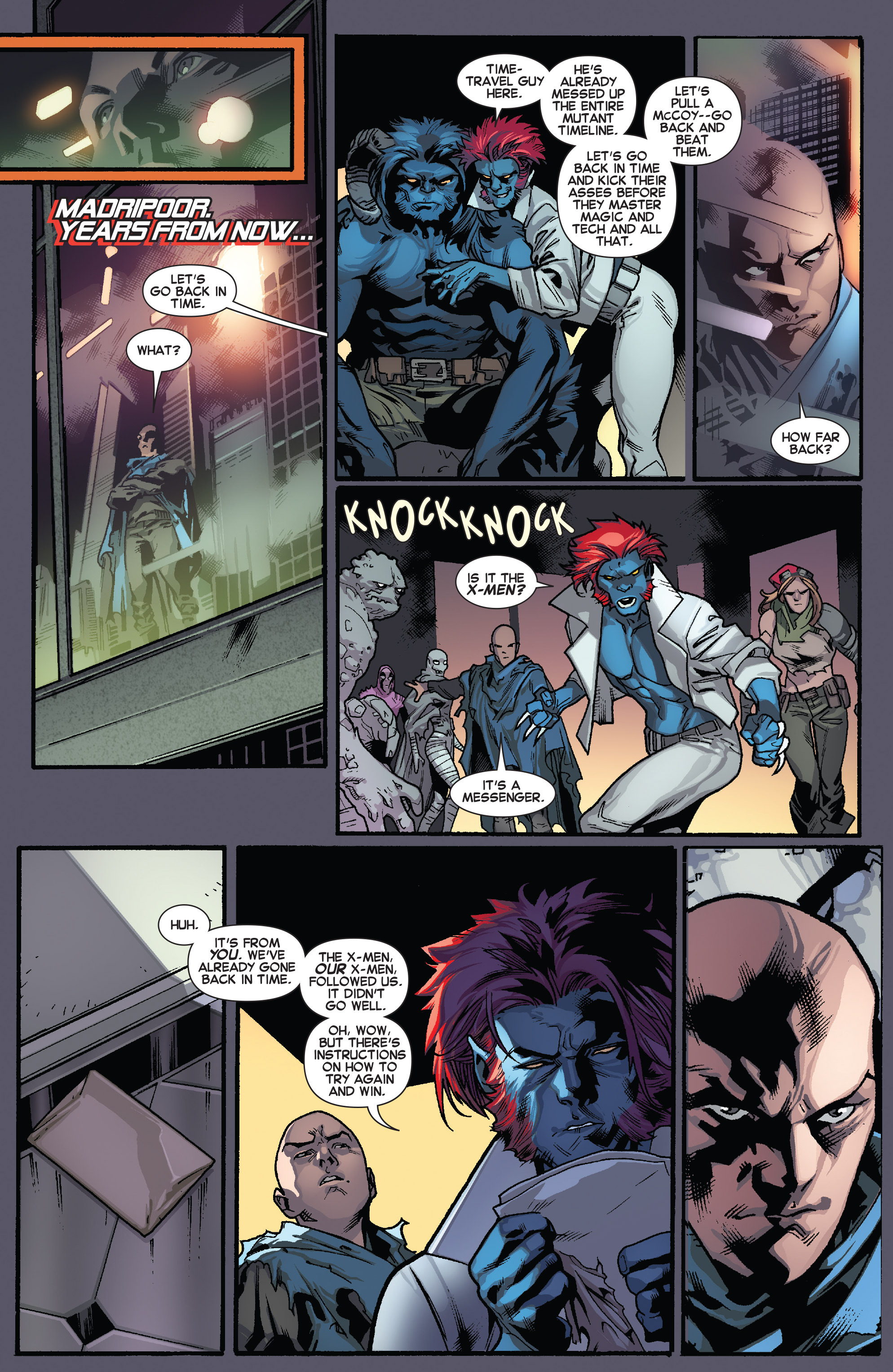 Read online All-New X-Men (2013) comic -  Issue # _Special - One Down - 101