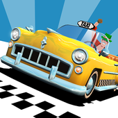 Download Crazy Taxi� City Rush Mod APK v1.7.2 Full Hack (Unlimited All) for Android Gratis