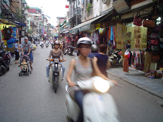 Circulation à Hanoi (Vietnam)
