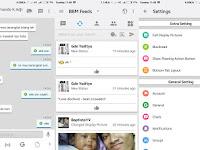 BBM Mod IOS Light v12 Based 3.1.0.13 Apk Terbaru