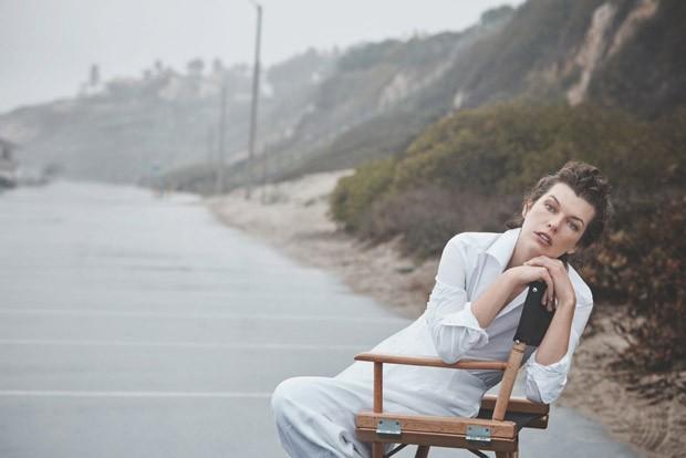 Milla Jovovich in Harper's Bazaar Spain