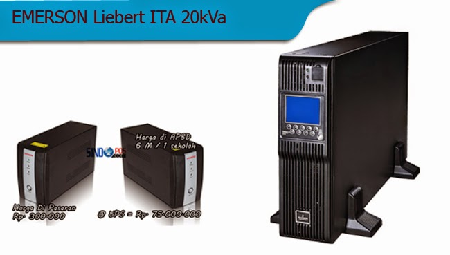 Spesifikasi UPS Termahal Emerson Liebert ITA 20kVa |   :: Sindopos