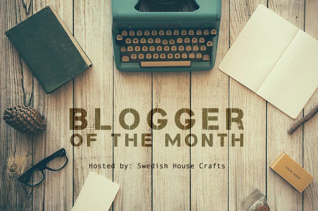 Introducing: Blogger of the Month