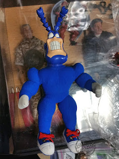 Bandai The Tick unproduced plush toy
