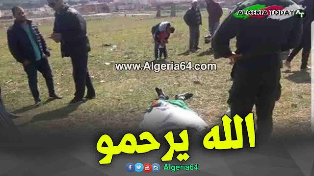 وفاة تلميذ بصعقة كهربائية أثناء محاولة تعليق العلم الجزائري