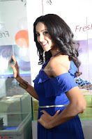 Priya Shri in Spicy Blue Dress ~  Exclusive 40.JPG