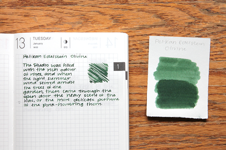 review: pelikan edelstein olivine