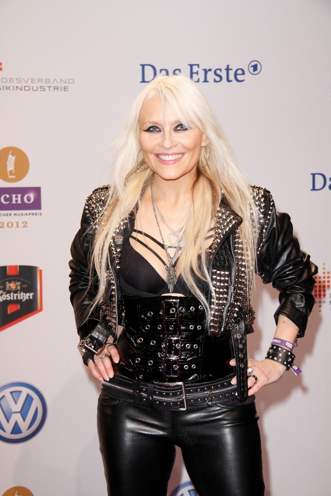 Doro Pesch Sexy HQ Photos at Echo Awards 2012
