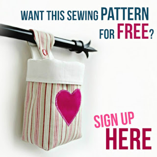 free pattern for a fabric hanging basket