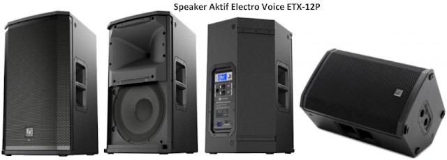 Harga Speaker Aktif EV ETX-12P