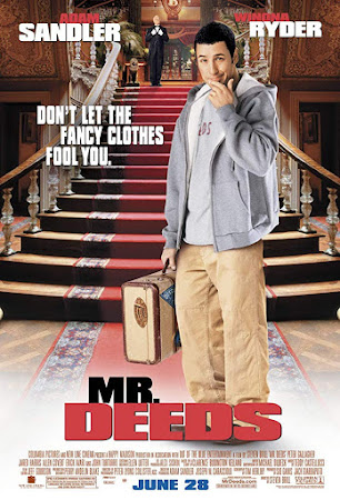 Poster Of Free Download Mr. Deeds 2002 300MB Full Movie Hindi Dubbed 720P Bluray HD HEVC Small Size Pc Movie Only At worldfree4u.com