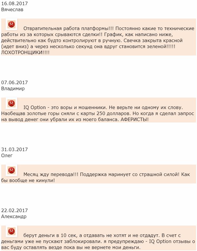 IQ Option отзыв от Вячеслава