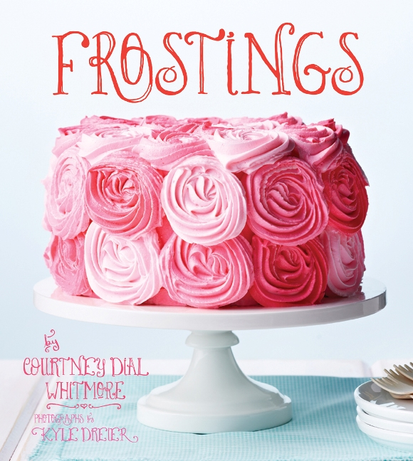 Giveaway   Signed Cake Frosting Recipe Book