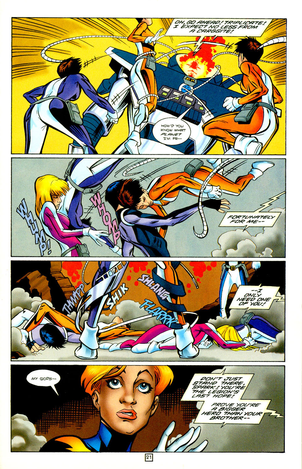 Legion of Super-Heroes (1989) 98 Page 21
