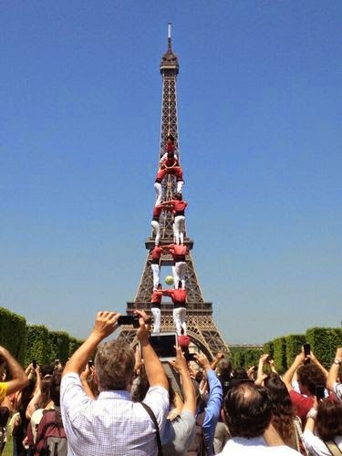Human Towers in Paris