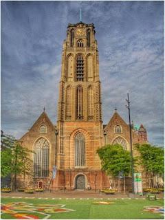 Iglesia Sint Laurenskerk en Rotterdam