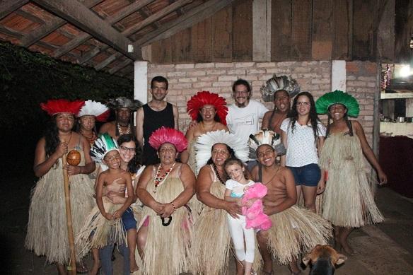 Grátis - De 9 de fevereiro a 2 de março Mostra São Paulo de Cultura Indígena. Guaranis e Kaingangs na Refinaria Teatral