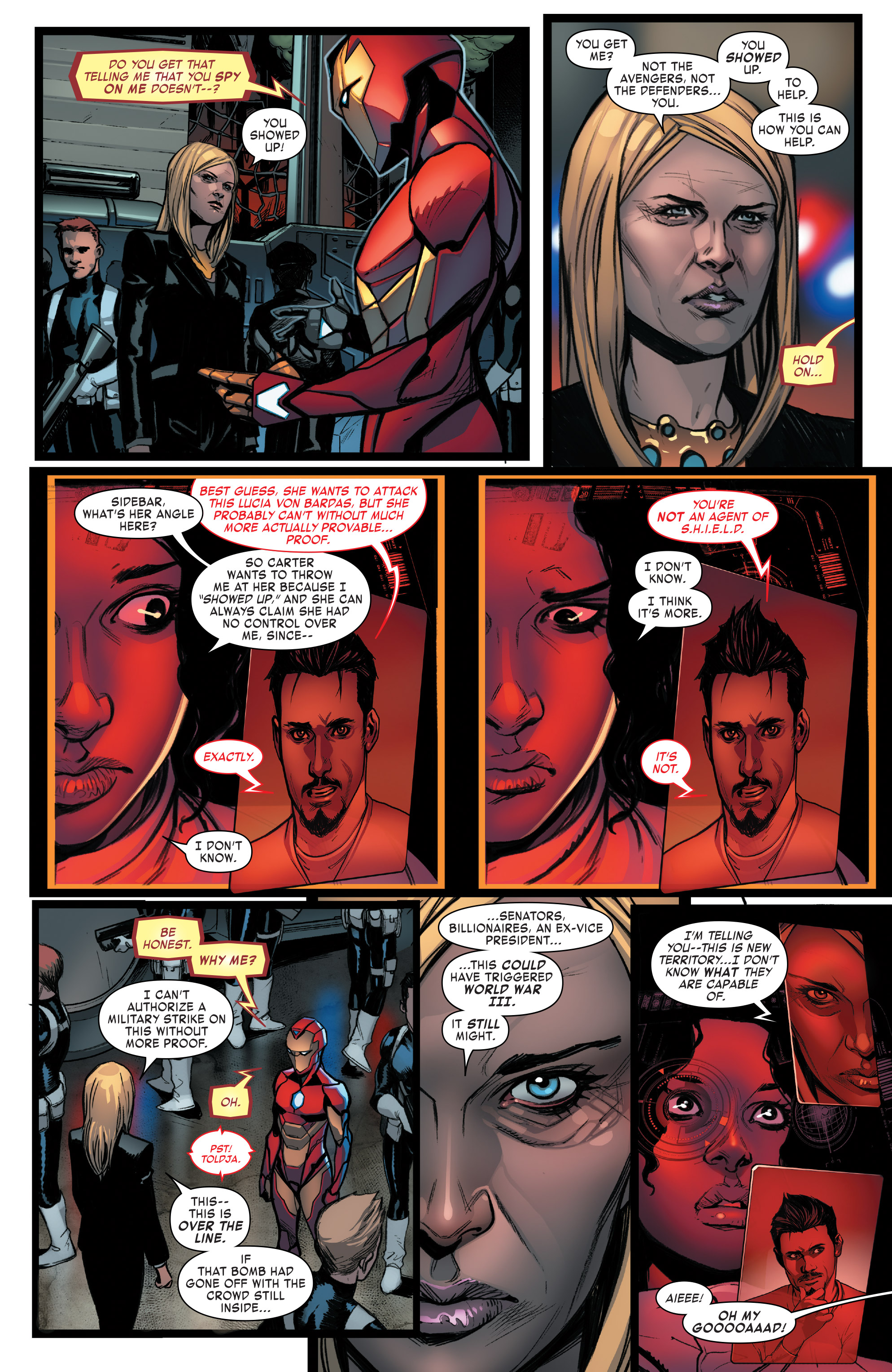 Read online Invincible Iron Man (2016) comic -  Issue #8 - 11