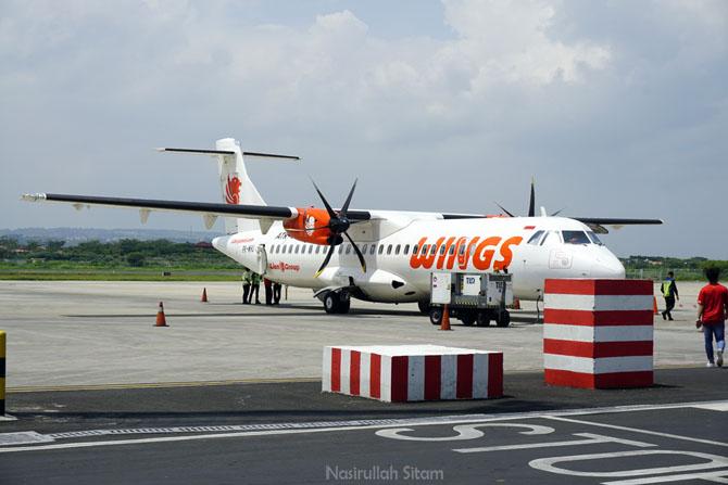 Pesawat Wings Air penerbangan Semarang - Karimunjawa
