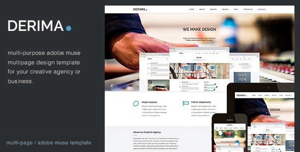 Derima Multipurpose Muse Template