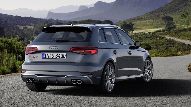 The Audi S3 Sportback