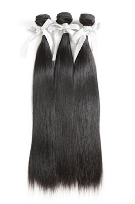 3 BUNDLES VIRGIN HAIR STRAIGHT HAIR-NATURAL COLOR
