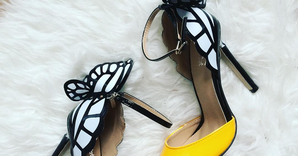 designer inspired butterfly shoes for just 163 21 vipxo