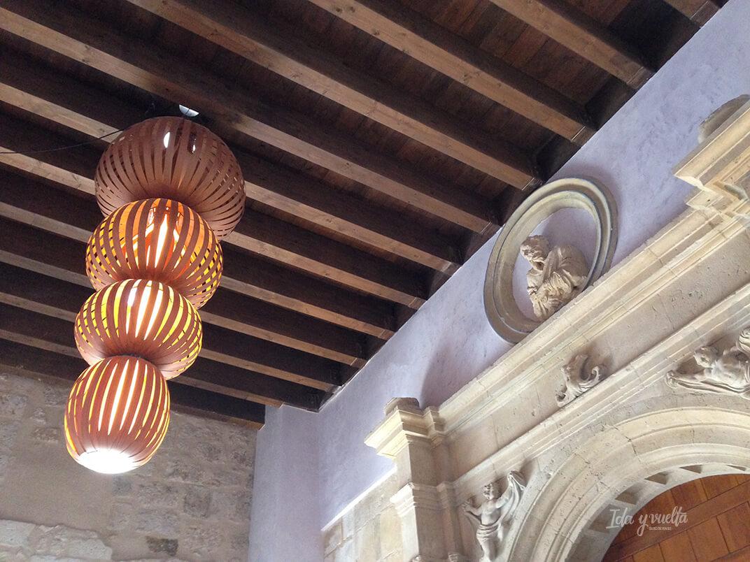 Detalle de la entrada del Castilla Termal Monasterio Valbuena