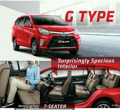 Toyota Calya Lampung