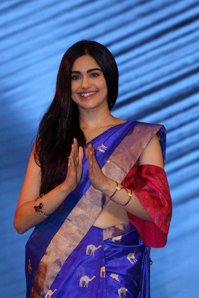 Adah Sharma at Woven 2017 Fashion Show Photos