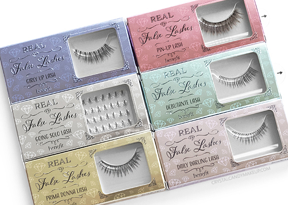 Benefit New Real False Lashes Models