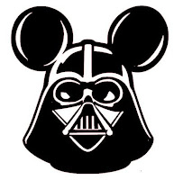 Disney's Micky Mouse as Darth Vader
