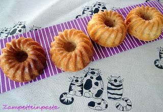 Ciambelline con miele e cocco (senza burro)