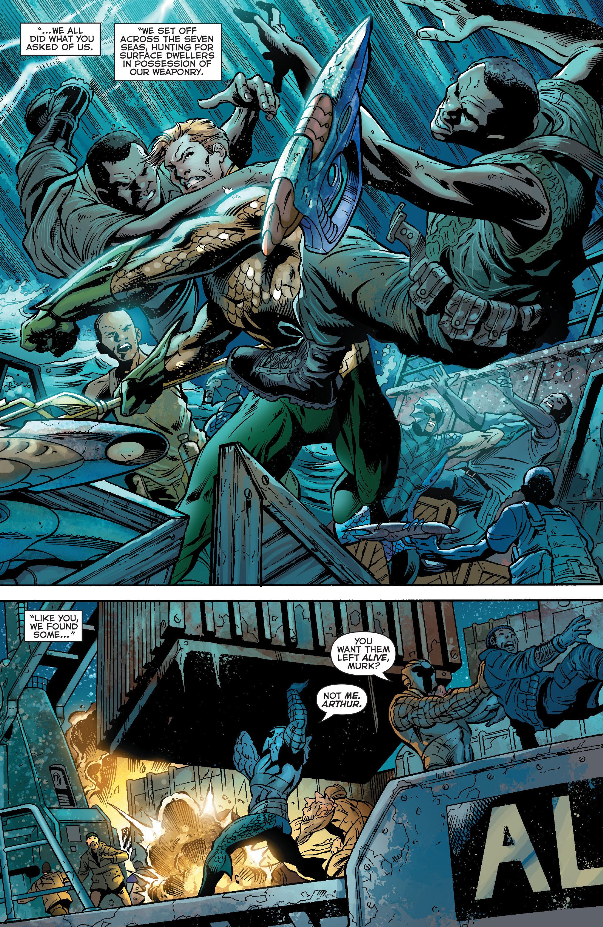 Read online Aquaman (2011) comic -  Issue #18 - 5