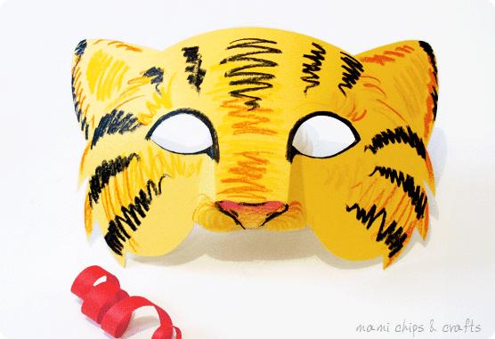 maschera-tigre-stampare