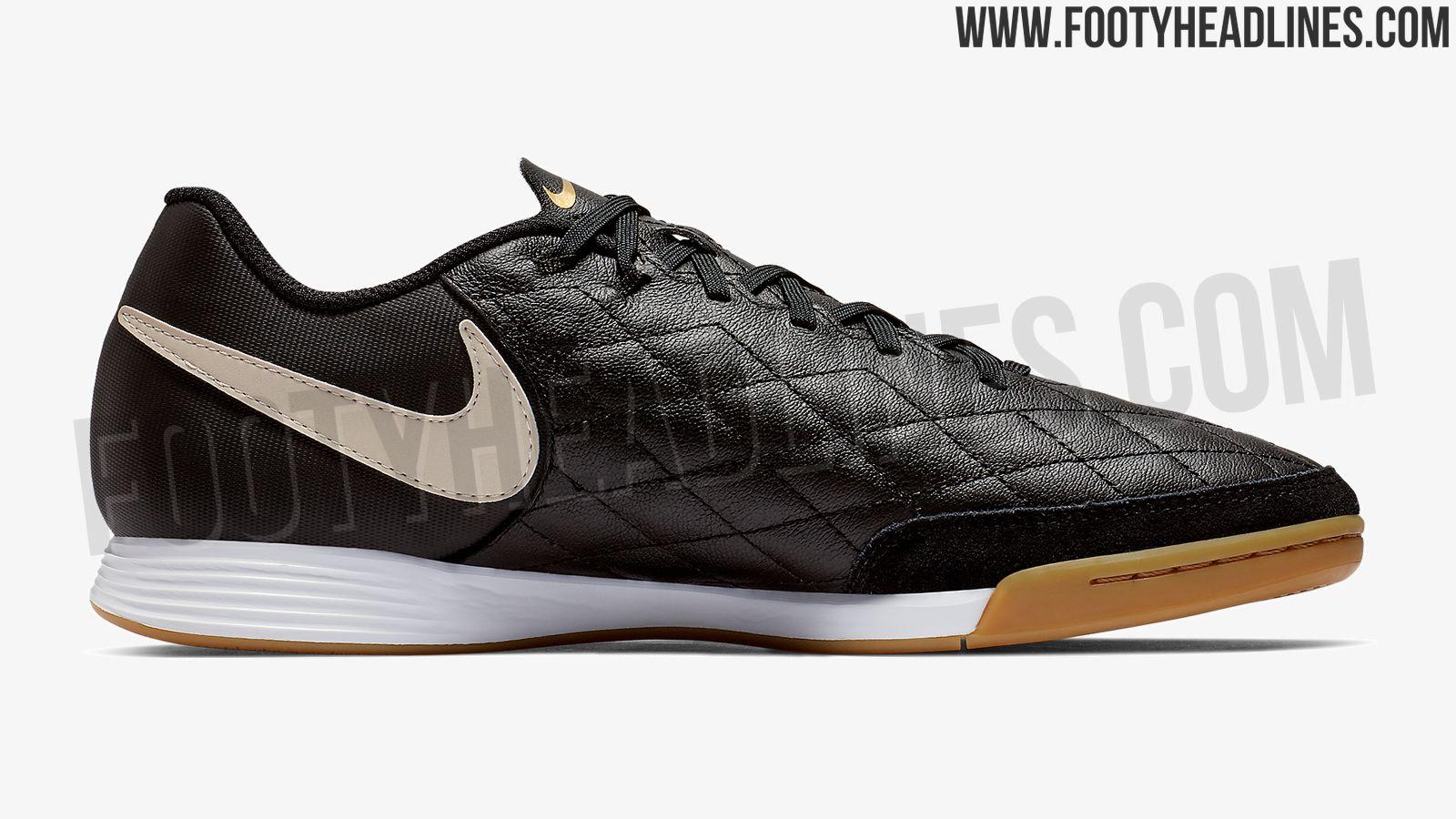 size 40 f910e a484e Stunning Black Nike Tiempo Ronaldinho 2019 Boots Leaked ...