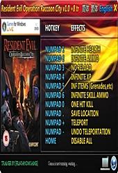 Resident Evil Operation Raccoon City V1 0 +8 Trainer   Game