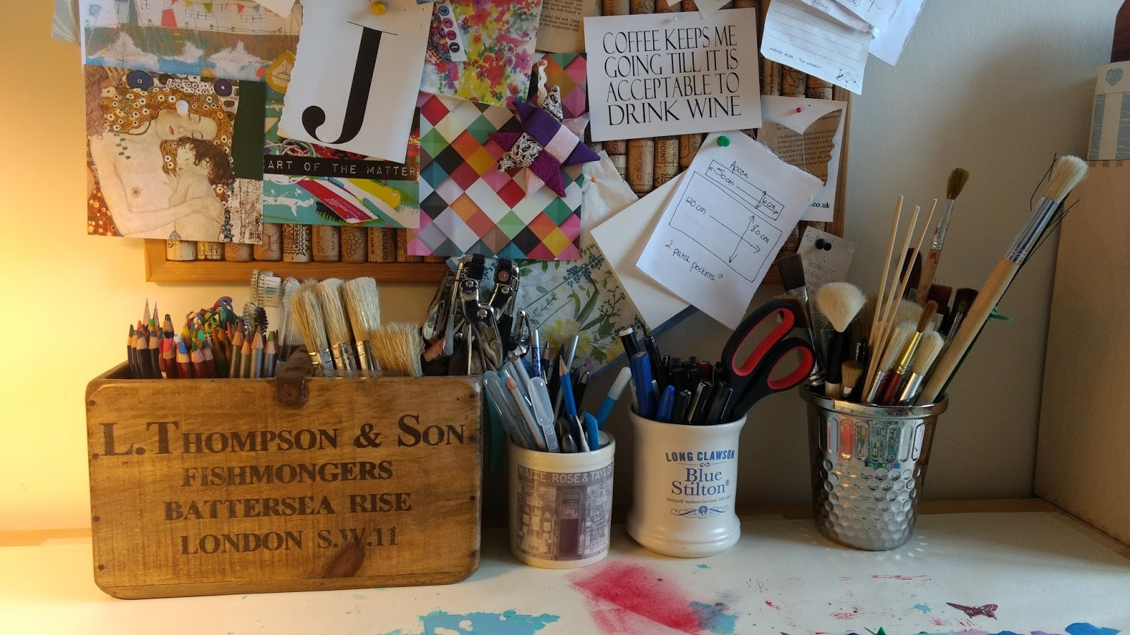 To Be Honest I Seem Always In Tidy Up Mode When My Sewing Den Because Although Am Not Actually Creating Still Think Doing Something