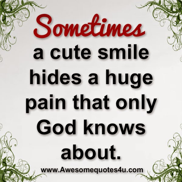 Cute Smile Quotes For Facebook: Awesome Quotes: Sometimes A Cute Smile