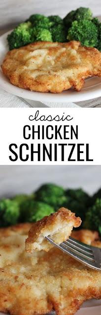 Classic Chicken Schnitzel