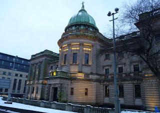 Glasgow, Escocia. Biblioteca Mitchell de Glasgow.