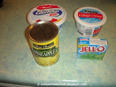 Margaret's Morsels | Lime Jello Salad