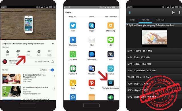 Cara Mudah Download Gratis Video Di Youtube Dengan Cepat Melalui Android.