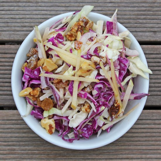 Detox Apple and Cabbage Salad