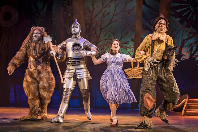 Following the Yellow Brick Road! Image credit Liz Lauren courtesy of Paramount Theatre.