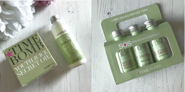 Trying Time Bomb Skincare Products